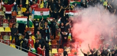 FRF, doar amendată de UEFA pentru incidentele de la meciul România - Ungaria