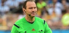 Jonas Eriksson va arbitra partida România - Irlanda de Nord