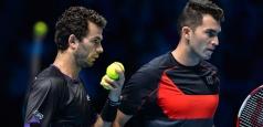 Turneul Campionilor: Tecău şi Rojer au pierdut şi ultimul meci din grupă