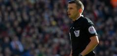 Meciul Steaua - Dinamo Kiev va fi arbitrat de englezul Michael Oliver