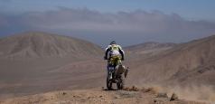 Raliul Dakar:  Gyenes, locul 21 în etapa a șasea