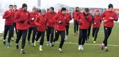 Dinamo va disputa vineri primul meci al anului