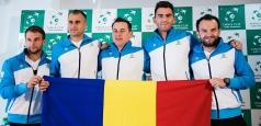 CUPA DAVIS România - Israel: Cele două echipe și-au prezentat jucătorii