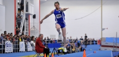 CE Indoor: Medalie de bronz la triplusalt pentru Marian Oprea