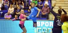 CSM București, victorie la 7 metri în primul meci din semifinală