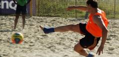 Fotbal pe plajă: România - Ungaria 4-3 la turneul din Egipt