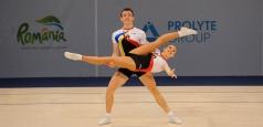 Jocurile Europene: România, calificată în finala probei de perechi mixte, la gimnastică aerobică