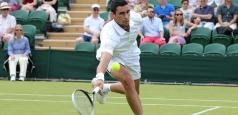 Wimbledon: Hănescu, vizită scurtă