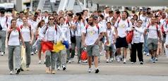 Echipa României a revenit în țară după Jocurile Europene
