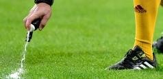 Spray-ul cu spumă a debutat în Liga 1