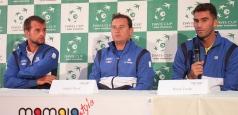 Cupa Davis: Conferința de presă