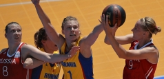 România, vicecampioană europeană universitară la baschet feminin 3x3