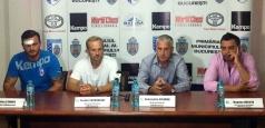 Echipele de handbal CSM București - prezentare de gală pe 11 august