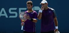 ATP Cincinnati: Tecău și Rojer s-au oprit în sferturi
