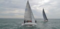 Echipajele ambarcațiunilor Simina și Bora, câștigătoarele Regattei Rotary Mangalia