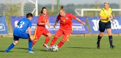 Fotbal feminin: România a învins Moldova cu 5-0