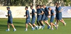 """""""Tricolorii"""", la primul antrenament înaintea meciului cu Ungaria"""