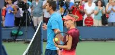 US Open: Halep și Tecău, în sferturi la dublu mixt