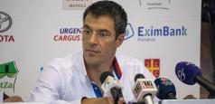 Virgil Stănescu: ''Vrem titlul național și un joc bun în Eurocup''