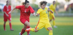 Fotbal feminin U19: România - Letonia 8-0 în calificările Euro 2016