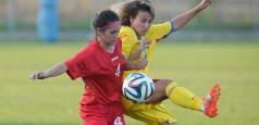 Fotbal feminin U19: România - Belarus 1-3 în calificările Euro 2016