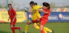 Fotbal feminin U19: România - Danemarca 0-1 în calificările Euro 2016