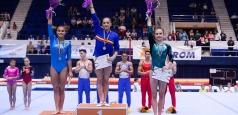 Larisa Iordache a cucerit trei titluri la Naționale, în finalele pe aparate