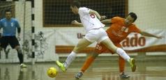 Reprezentanta României a debutat în grupa principală a UEFA Futsal Cup