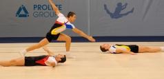 Gimnastică aerobică: 6 medalii pentru România la Europenele de Elvas