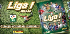 LPF a lansat albumul Panini Liga 1, ediția 2015-2016