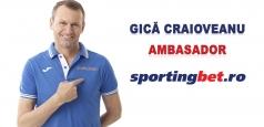 Gică Craioveanu devine Brand Ambassador al companiei Sportingbet în România
