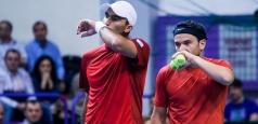 ATP Dubai: Ambii români din proba de dublu au fost eliminați
