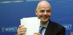 FRF l-a votat pe Gianni Infantino la alegerile FIFA