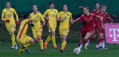 Fotbal feminin: România - Spania 0-0, într-un meci amical