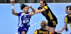 Victorie la limită pentru CSM București în Liga Campionilor