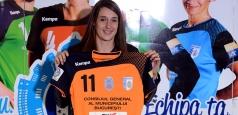 Camille Ayglon a semnat pe un sezon cu CSM București