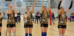 DA1F: CSM București obține medaliile de bronz