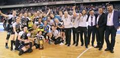 Cupa României: CSM București face marele șlem