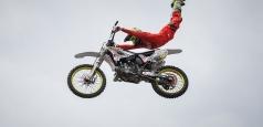 Cinci dintre cei mai buni rideri FMX din lume au făcut spectacol la Bucureşti, la Flying Rockstar Energy Tour