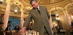 Anatoli Karpov la deschiderea Campionatului European individual de șah