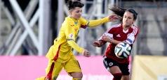 Fotbal feminin: Victorie la scor de forfait în Albania
