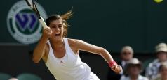 Wimbledon: O înfrângere și un meci întrerupt de ploaie