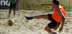 Fotbal pe plajă: Două eșecuri la turneul Euroligii
