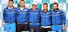 Tabloul meciurilor România – Spania, din Cupa Davis
