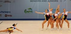 Aur la Gimnaziadă pentru gimnaste