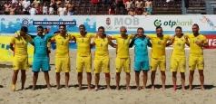 Fotbal pe plajă: România a terminat cu un succes turneul de la Catania