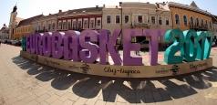 EuroBasket2017: Simbolul gigant, instalat azi în Romania și alte 3 țări