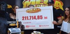 Record pentru România: 900.000 lei câștigați în doar 9 zile la Megajackpot
