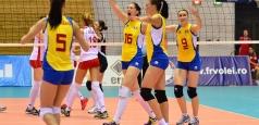 Naționala feminină a debutat cu dreptul în turneul de la Piatra Neamț