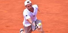 ATP: Ungur cedează în Maroc, Luncanu învingător în Sardinia